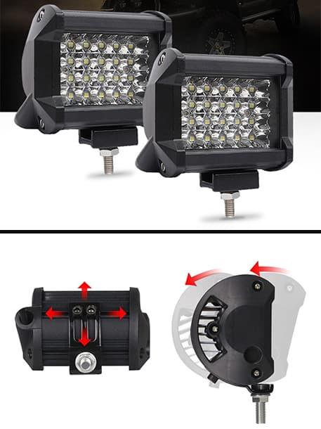 offroad sis lambası 24 led fsmauto